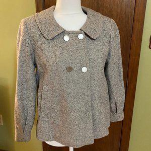 Calvin Klein Size 4 tweed blazer/jacket